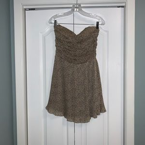 Costa Blanca strapless dress size small